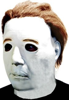 Paper Magic Men's Don Post Studios Michael Meyers The Mask, White, One Size -
