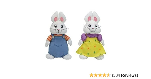 7868defb065 Amazon.com  Ty Beanie Baby Max   Ruby Set  Toys   Games