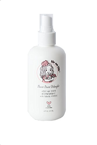 Liv On Life Flower Power Detangler Children's Sulfate & Paraben Free, Uses Plant & Flower Root Extracts Protects Against Thermal Damage for Thicker, More Beautiful Hair - Fl 8 oz - Liv Chic