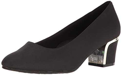 Morbidi Cuccioli Hush Puppies Womens Deanna Dress Pump Nero Grosgrain