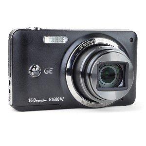 GE E1680W 16MP 8x Optical/6x Digital Zoom Camera w/HDMI (Black)