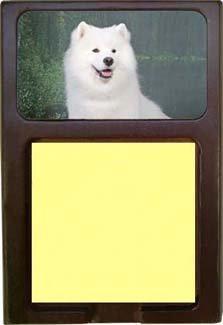 Samoyed Sticky Note Holder ()