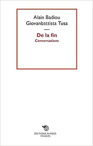 Conversations (Visages): Amazon.es: Alain Badiou, Giovanbattista Tusa: Libros en idiomas extranjeros
