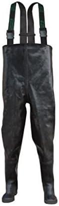 Fagum Stomil// LD Waders Wathose echte Gummi Naturkautschuk Rubber Gummihose Anglerhose Teichhose 39-47