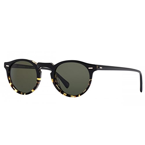 S P1 DARK PECK TORTOISE BLACK acétate 47 OV 23 POLARIZED 5217 Oliver 150 GREGORY G15 1178 homme SUN Rondes Peoples SHADED EqgxnPTY