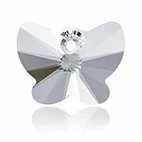 6754 Swarovski Pendant Butterfly | Crystal | 18mm - Pack of 1 | Small & Wholesale Packs ()