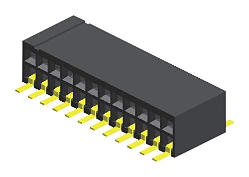 GREENCONN 2ROW CSEC208-0502A001C1AC Connector RCPT 1.27MM 10POS