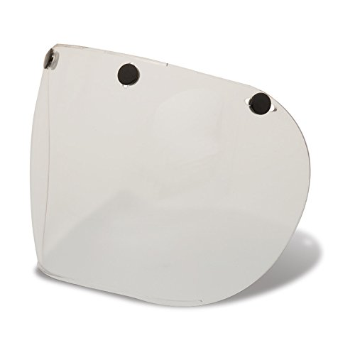 Bell Sports Replacement 3-Snap Helmet Shield (Clear - One Size)