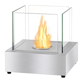 Ignis Ventless Bio Ethanol Fireplace Cube