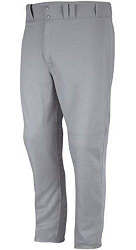 Mlb Baseball Pants - Majestic Men's MLB Cool Base HD Custom Inseam Baseball Pant (Gray, XX-Large)