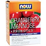 Cranberry Mannose with Probiotics - Box of 24 Packets by NOW