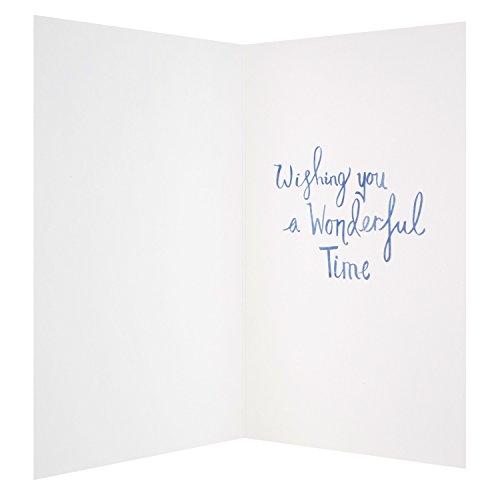 Hallmark 25501342Père carte de fête Wonderful Time–Medium