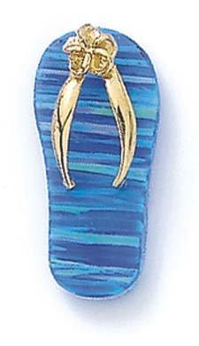 14Ct crée pendentif opale-jewelryWeb tongs bleu