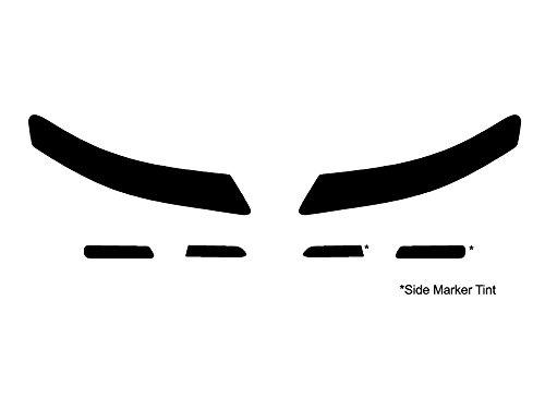 Rvinyl Rtint Headlight Tint Covers for Acura TL 2004-2008 - Blackout Smoke