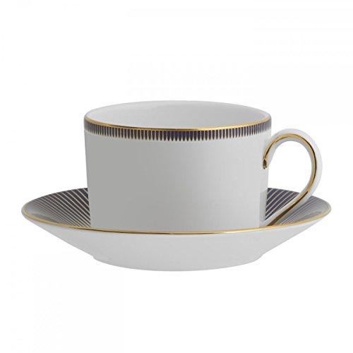 Lismore Diamond Lapis 6 oz. Teacup and Saucer
