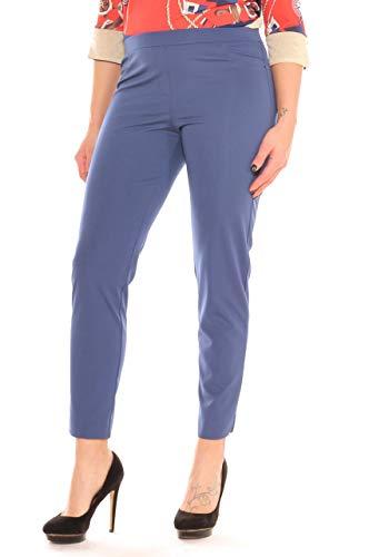 Carla bluette Mujer Azul Para Pantalón 44 Ferroni zwFqZP