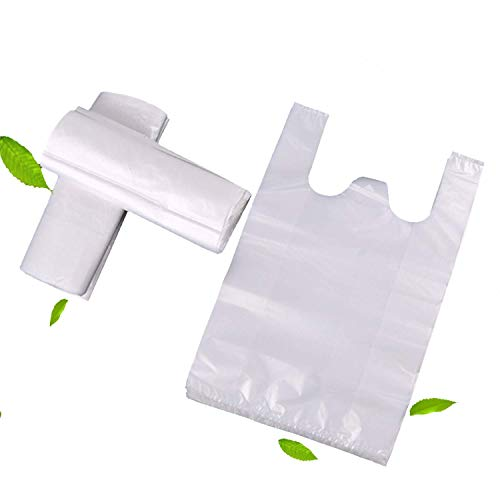 Plastic Shopping Bags/Garbage bags, Topgalaxy.Z Reusable Grocery Bags, Retail plastic bag - Measures 14.17