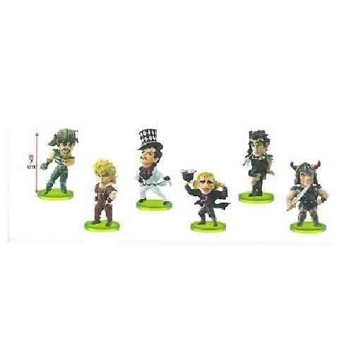 Japan Import JoJo's Bizarre Adventure Phantom Blood World Collectible figures vol.3 all six