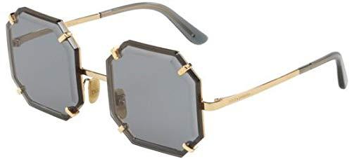 Dolce & Gabbana Women's 0DG2216 Gold/Grey One ()