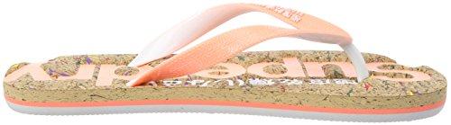 Superdry Fluro Cork Coral Flop Multi para Flip Fleck Nz1 Mujer Multicolor Chanclas frrdnHqzF