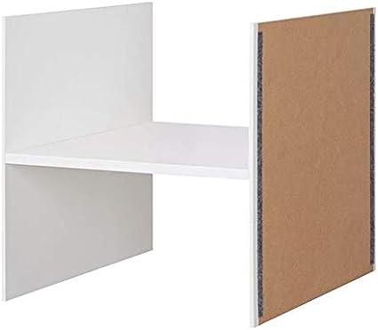 IKEA KALLAX Inserto con 1 estante, 33 x 33 cm, color blanco