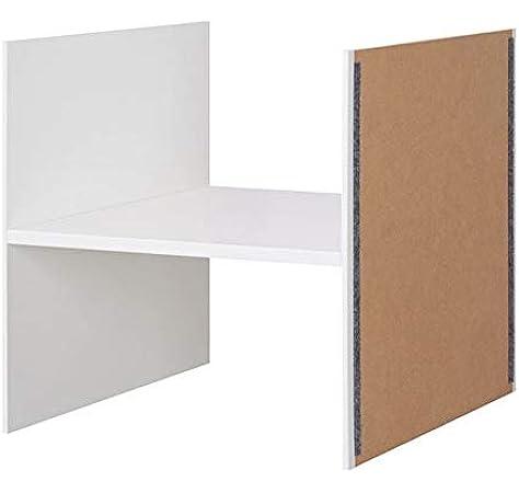 IKEA KALLAX - Inserto con 1 estante, 33 x 33 cm, color blanco: Amazon.es: Hogar