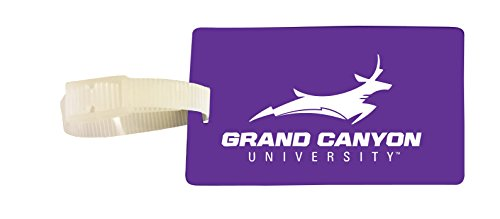 Grand Canyon University Lopes Luggage Tag 2-Pack by R and R Imports