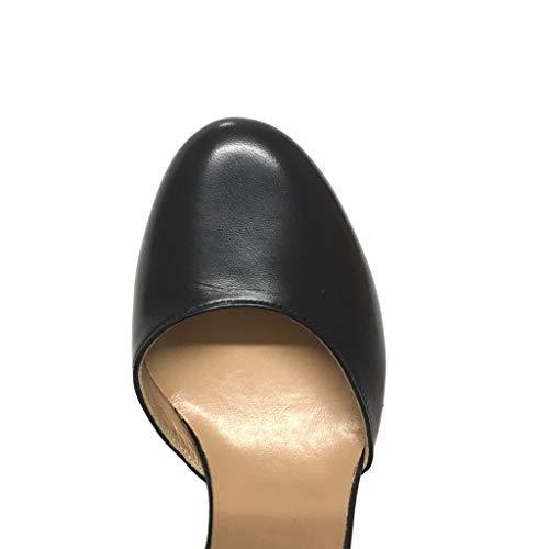 Ai Vera Nere Shoe Italy Pelle Lati Gar Made Nero Maryjane Aperte In YxqpI4