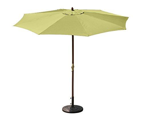 Budge industries patuw2301l juniper wood patio umbrella for Terrace umbrella for sale