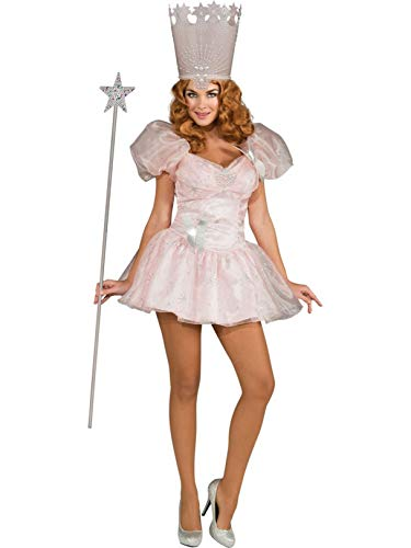 Baby Glinda Costume (Secret Wishes Women's Wizard of Oz 75th Anniversary Edition, Glinda The Good Witch, Multicolor,)