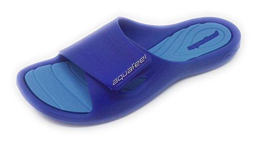 Bleu Mules Femme Feel Pour Aqua 4Pag4