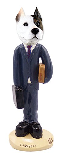 (Pit Bull Terrier Lawyer Doogie Collectable Figurine)