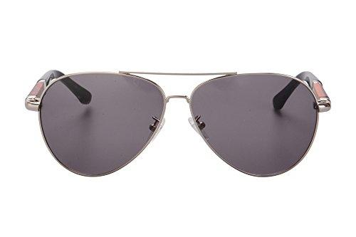 lunettes m¨¦tal de SHINU 1575 UV400 soleil sous gris de protection argent de de soleil gradient forme l¨¦ger de femmes Lunettes place qxSwfvOq