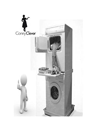 Verbindungsrahmen mit Arbeitsplatte für Waschmaschine / Trockner ...