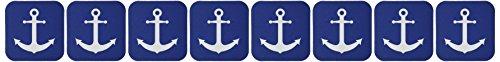 3dRose cst 165798 2 Nautical Design Soft Coasters