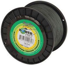 braid 20 lb 1500 yard moss green power pro spectra