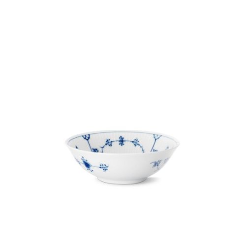 - BLUE FLUTED PLAIN SOUP/CEREAL BOWL