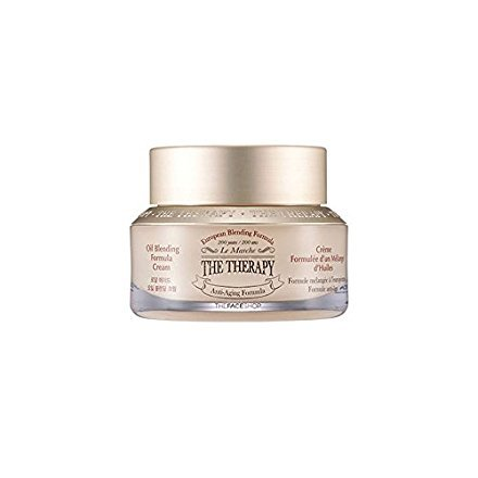 The Face Shop The Therapy Oil Blending Formula Cream 50ml / 2016. 10. NEW UPGRADE