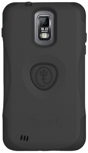 Trident Case AEGIS for Samsung Galaxy S II (SGH-T989) - Retail Packaging - Black