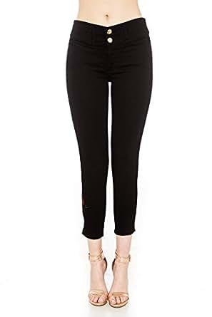 Jeans SOHO Negro talla 5 para mujer color Negro talla 5