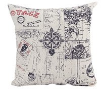 FairyTeller Outdoor Cushion Cover Decorative Vintage Throw Pillow Case Capa De Almofada U6711
