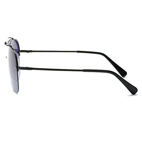 3bec5396cd Kimorn Polarizado Gafas de sol Hombre Retro Pilotos Estilo Metal Marco  K0557 Durable Modelando
