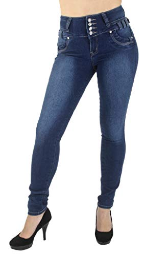 Style M1213P– Plus Size, Colombian Design, High Waist, Butt Lift, Skinny Jeans