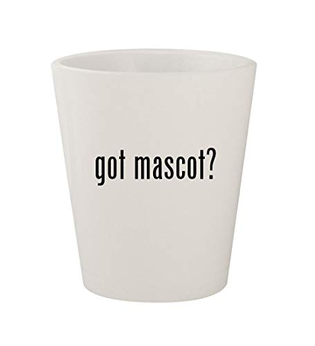 got mascot? - Ceramic White 1.5oz Shot Glass -