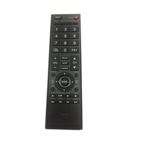 EASY Replacement Remote Conrtrol For TOSHIBA 40L2200 40L2400 40L2400U LCD LED HDTV by EREMOTE