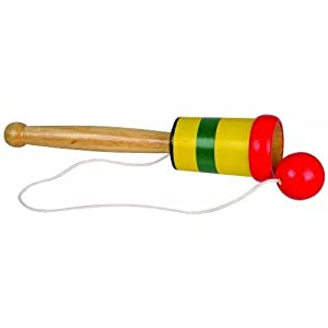 Toysmith Wooden Catch Ball