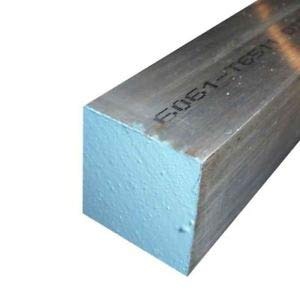 JumpingBolt 6061-T6511 Aluminum Square Bar 3//4 x 3//4 x 24 Long Material May Have Surface Scratches