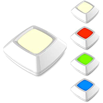 Biglight Push Lights Rgb Touch Lights Battery Operated