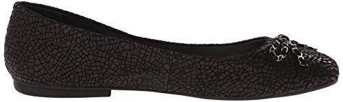 Tahari Frauen Flache Schuhe Black