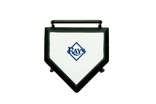 MLB Tampa Bay Rays Home Plate 4-pack Coaster Set ()
